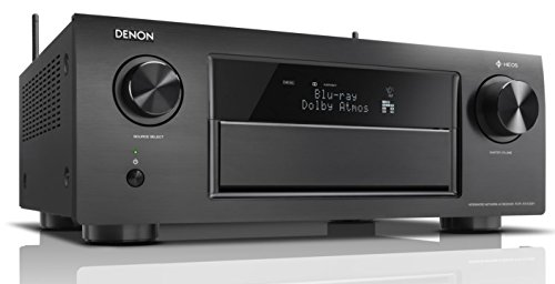 Denon AVR-X6400H 140W 11.2channels Surround 3D Black AV receiver - AV receivers (140 W, 11.2 channels, Surround, 205 W, 200 mV, 47000 Ω)