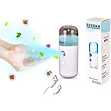 Eyetech Refillable & Rechargeable Mini Sanitizer Spray Machine for Currency, Car, Home, Office, Bank, Mobile Care, Personal Care etc.