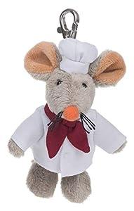 Schaffer 248 - Llavero con ratón de Cocina, Color Blanco y Gris