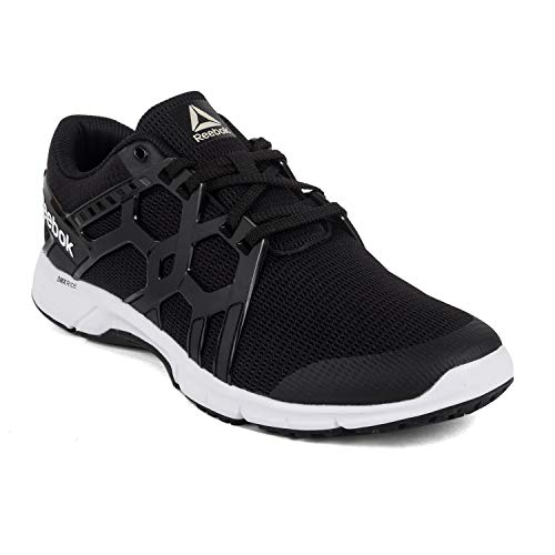 2b34223e29 Amazon Offers - Reebok Men s Gusto Run Lp Black Running Shoes-8 UK India (42 .