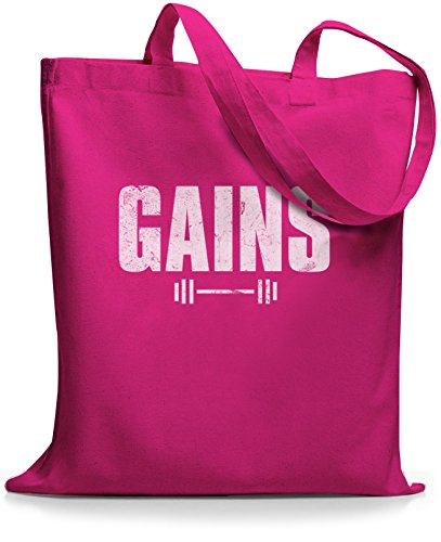StyloBags Jutebeutel / Tasche Gains Pink