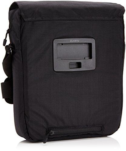 Klickfix Smart Bag 6 Liter Lenkertasche inkl. Adapter Schwarz/Rot