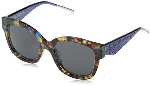 Dior Damen VERYDIOR1N Y1 VV4 Sonnenbrille, Blau (Bluette Havana/Grey), 51