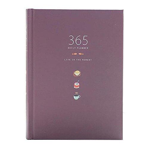 Nette 365 Tage Planer Nachfüllungen Täglich Wöchentlich Monatliche Kalender Zeitplan Notizbuch...