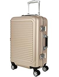 Muto Stealth Airwheel maletín equipaje de mano Maleta viaje Oro de color beige 55cm, TSA, Corea técnicos Marca