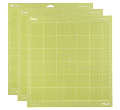 Unbekannt Cricut standardgrip Schneidematte 12x 123Pack AMZ, grün -