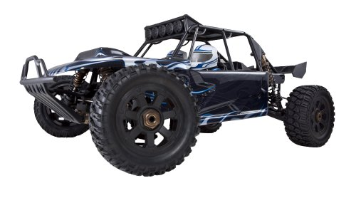 Redcat Racing Rampage Chimäre EP Pro Sand Rail Brushless Electric Car, schwarz/blau, Maßstab 1/5 (Redcat Buggy Brushless)