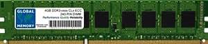 4Go DDR3 800/1066/1333/1600/1866MHz 240-PIN ECC DIMM (UDIMM) MÉMOIRE RAM POUR SERVEURS/WORKSTATIONS/CARTES MERES