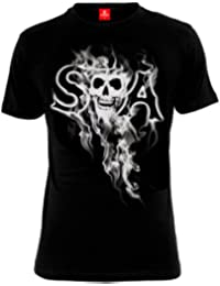 Hijos de la anarquía - Camiseta Reaper SAMCRO Sons of Anarchy - Negra