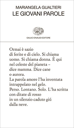 Le giovani parole (Collezione di poesia Vol. 432) (Italian Edition ...