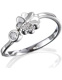 Scout Kinder Ring Silberring Silber Kleeblatt Mädchen 263011100