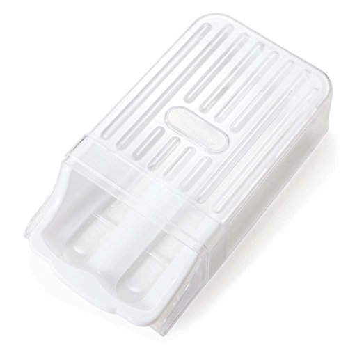 B & Y Gefrierschrank Kühlschrank Aufbewahrung Kunststoff Ei holder-12-egg Kapazität weiß