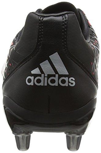 adidas Kakari Sg, Chaussures de Football Homme, UK Noir (Negbas/plamet/rojimp)