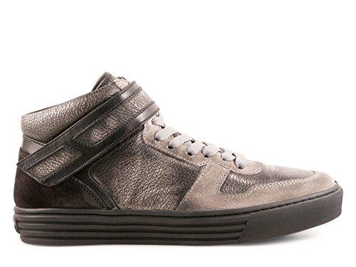 Baskets montantes Hogan Rebel homme en cuir noir - Code modèle: HXM2060O5506Z5014D Noir