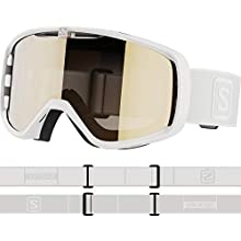 SALOMON AKSIUM Access, Goggles Unisex-Adult, White, One Size