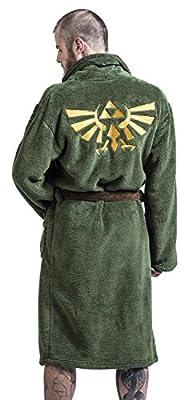 Zelda Logo Peignoir vert/marron