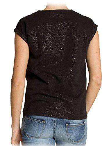 Carrera Jeans - T-Shirt T852389WA für frau, regular fit, kurzarm 899 - Schwarz