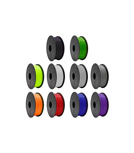 Grupo K-2 Filamento Pla 3 Mm Impresora 3D Negro