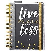 Grupo Erik Editores AGEDP1904 - Agenda anual 2019 con diseño Glitter, día pagina