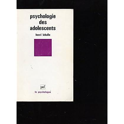 Psychologie des adolescents
