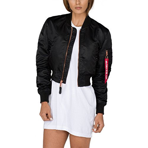 Alpha Industries Damen Jacken / Bomberjacke MA-1 PM schwarz S