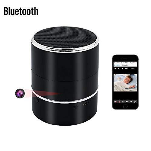 Bluetooth Oculta Cámara, UYIKOO HD 1080P WiFi Cámara Oculta Altavoz Inalámbrico Bluetooth...