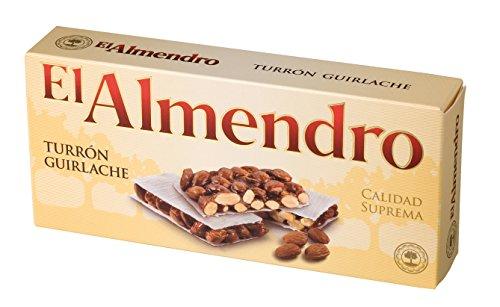 El Almendro - Turron de guirlache - Turron Nougat - 240gr Supreme...