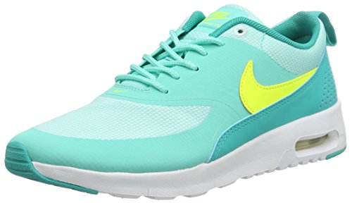 Nike Unisex-Kinder AIR MAX THEA (GS) Low-Top, Türkis (Hyper Turq/Volt-Clear Jade-White), 38 EU