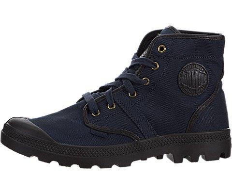 Palladium PALLABROUSE Scarpe Stivaletti Nuovo Walking alto Tela con Lacci Stivali alla Caviglia, blu (Navy), 45 EU