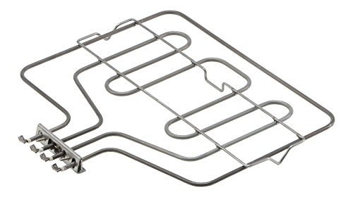 DREHFLEX® - Oberhitze/Heizung / Heizelement - passend für diverse Bosch/Siemens / Neff/Constructa Herde/Backofen - passend für Teile-Nr. 00290149/290149 - EGO 20.40843.000 / E.G.O. 2040843000