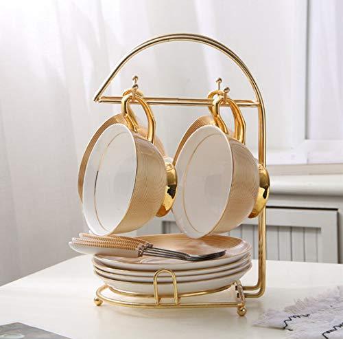 Tee-set Ou Dian Elegante Knochen China Tee Tasse Untertasse Set Englisch Keramik Kaffeetasse B Elegante Tee-sets
