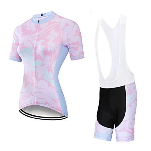 YDJGY 2019 Bike Jersey Set Sommer Frauen Radfahren Dress Fahrrad Kleidung Mtb Clothing Racing Uniform Weibliche Outdoor Sport Anzug Maillot