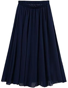 Ourlove Fashion - Falda - trapecio - para mujer