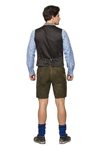 Stockerpoint - Herren Trachten Weste in verschiedenen Farbtönen, Calzado, Größe:50, Farbe:Stein - 4