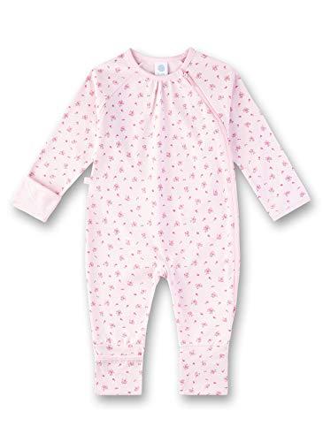 Sanetta Baby-Mädchen Overall Strampler, Rosa (Magnolie 3609), 92 (Herstellergröße: 092)