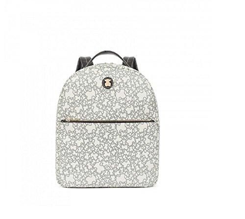 Imagen de tous kaos mini de lona, bolso  para mujer, beige beige , 12x40x29 cm w x h x l