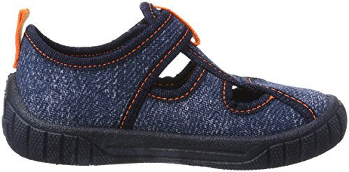 Superfit Bill, Sneakers basses garçon Blau (Ocean Kombi)