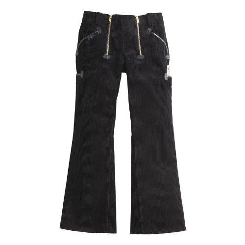 PIONIER WORKWEAR Herren Trenker-Garantiecord-Zunfthose mit Schlag in schwarz (Art.-Nr. 314) schwarz,Größe 54
