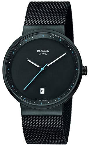 Boccia Reloj Analógico para Hombre de Cuarzo con Correa en Acero Inoxidable 3615-02