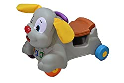 Olly Polly kids high quality imported Learning Puppy Walker and Rider with Music and Lights-gift toy