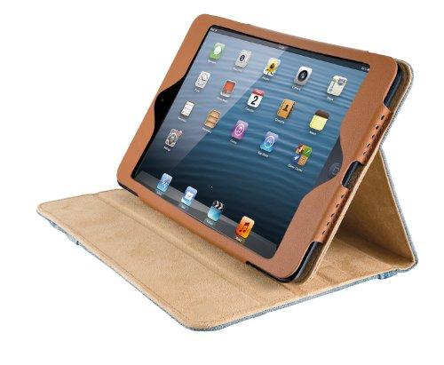 Trust Jeans Folio Stand für Apple iPad Mini blau (Apple Jeans)