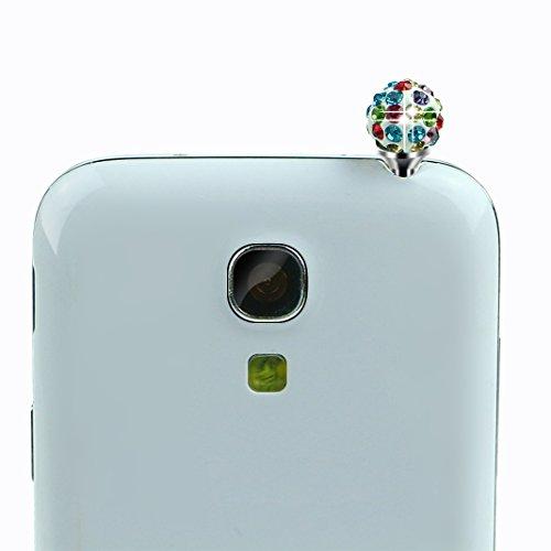 Pheant® [3 in 1] Coque Gel pour Apple iPhone 6/6S Étui Housse de Protection TPU Doux Antidérapant Cas avec Stylet et Bouchon Anti Poussiere(Blanc Rosé) Hibou