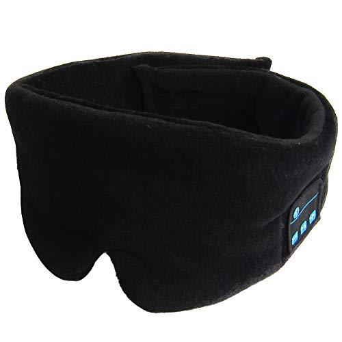 HOMYY Bluetooth Schlafmaske mit Kopfhörern, kabellos, Bluetooth, Schlaf-Augenschutz,...