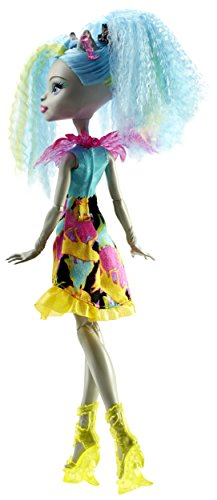 "Image of Monster High DVH66 ""Electrified Hair Raising Ghouls Silvi Timberwolf"" Doll"