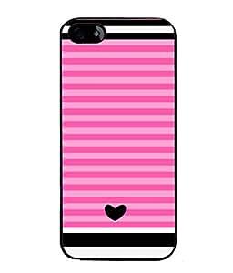 FUSON Designer Back Case Cover for Apple iPhone 4S (Seamless Pattern Blue Design Drawing )