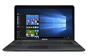 """Asus X751MA-TY284T Ordinateur Portable Non Tactile 17,3"""" (43,94 cm) Noir (Intel Pentium, 4 Go de RAM, 1 To, HD Graphics)"""