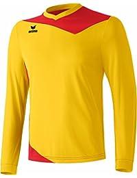 erima Trikot Glasgow La - Camiseta de equipación de fútbol para hombre, color amarillo/