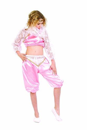 RG Costumes Pink Genie Costume, Pink/White, Large