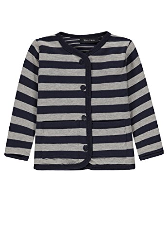 Marc O' Polo Kids Marc O' Polo Kids Baby-Unisex Sweatjacke 1/1 Arm, Blau (Mood Indigo 3008) 56