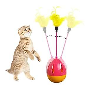 tumbler kitten toys balls interactive cat toys teaser. Black Bedroom Furniture Sets. Home Design Ideas